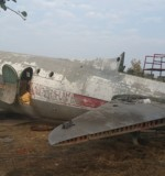 Salvaging an aircraft