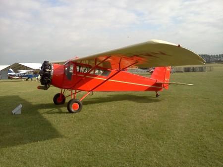 G-BTYY Curtiss Robin