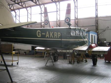 G-AKRP DH89a Dragon Rapide