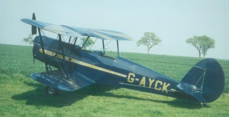 G-AYCK Stampe SV4C
