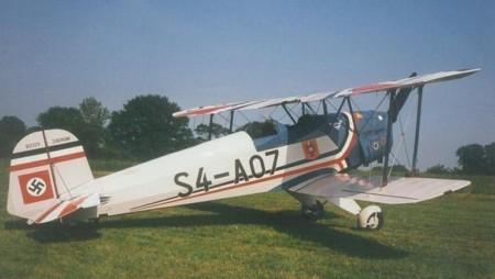 G-BWHP CASA 1.131E Jungmann