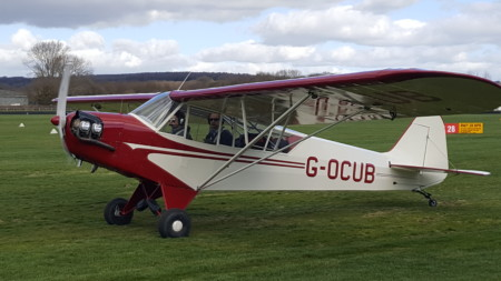 G-OCUB Piper L4 Cub